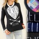 ingrosso T-shirts & Tops: K183 COTONE  CAMICIA: non  smettere mai di ...