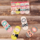 wholesale Childrens & Baby Clothing: 4554 Cotton Children Socks, Feets, Kitties 22-32