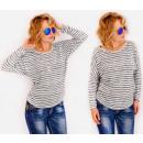 hurtownia Fashion & Moda: R01 Bluzka Oversize, Luźne Kimono, Melanżowe ...