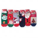 Women's Fluffy Socks, Christmas, 35-41, 5778