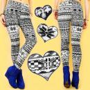 3678, velours  leggings, Noors design, WOL