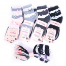 wholesale Stockings & Socks: Women Socks, cotton , Cats, 35-41, 5186