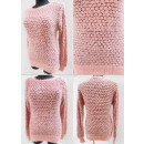 Großhandel Pullover & Sweatshirts: K27 Hairy Warm Sweater, geometrisches Muster