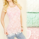 wholesale Fashion & Mode: C11218 EFFECT TOP, BLOUSE, FLOWER LACE