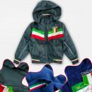 grossiste Vetements enfant et bebe: Veste polaire A19173 pour garçon, ITALIA 4-12