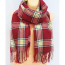 Großhandel Fashion & Accessoires: B11492 Big Plaid, Schal, Schal, warme Strickwaren