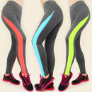 wholesale Trousers: 3923 LEGGINGS,  FITNESS PANTS, GYM TRENDS MIX