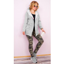 C24233 Lovely Womens Hoodie, lose Jacke