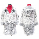 wholesale Pullover & Sweatshirts: Fluffy Christmas Cardigan With Hood, M-2XL, 5145