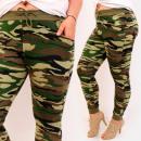 Großhandel Hosen: D26132 Military Women Pants, Große Größen, Moro
