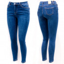 Damen Jeans Hosen, 34-42, Hohe Taille, B16898