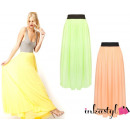 ingrosso Gonne: CHIC Maxi gonna PASTELS eterei MIX