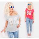 wholesale Shirts & Blouses: C11495 Summer Blouse, Lace Print 68, Jets