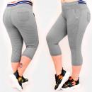 Großhandel Hosen: C17616 Komfortable Hose, Plus Size, Länge 3/4