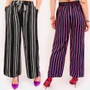 Großhandel Hosen: C17677 Damenhosen, Gürtel zum Abnehmen, CULOTTE ST