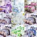 wholesale Bedlinen & Mattresses: Bedding Set, 220x200, 4 Parts, mix Z124