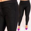 wholesale Trousers: D26135 Elegant Pants, Large Sizes Up 6XL, Jets