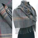 Weicher Schal, Schal, Elegant Check A1287