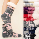 wholesale Fashion & Apparel: 4154 Warm Socks,  ABS Slippers Snowflake Fur