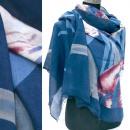 Weicher Schal, breiter Schal, klassisches Muster A