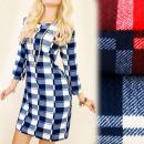 Großhandel Kleider: C11295 Herbstkleid, Tunika in einem ...