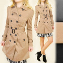 wholesale Coats & Jackets: BB102 LOVELY COAT,  trench coat, ROMANTIC SPRING