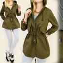 BI284 laza, tavaszi kabát, kabát, City Style