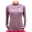 wholesale Pullover & Sweatshirts: Sweater S-XL, Lace and Pearls, D14120