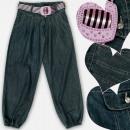 wholesale Jeanswear: A19215 Girls Jeans Pants, 134 - 158