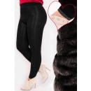 Großhandel Hosen: 4384 Bambus Leggings mit Fleece, Plus Size ...