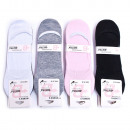 wholesale Stockings & Socks: Cotton Foot Socks, Fitness 35-38, 5284