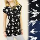 groothandel Kleding & Fashion: K355 katoenen  blouse, TOP FLYING SWALLOW
