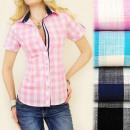 BI402 ROMANTIC  Frauen-Hemd, SPRING GITTER