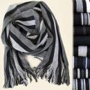 C17418 élégante écharpe pour homme, Fringe, ...