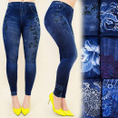 FL432 Leggings  Jeans, Plus Size, Bamboo, Patterns