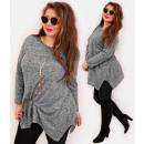 wholesale Shirts & Blouses: 4426 Slimming Tunic Plus Size, Classic Line