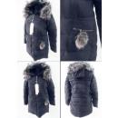 Großhandel Mäntel & Jacken: E1 Winterfrauenjacke, Anhänger Pompon, ...