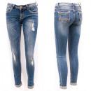 Großhandel Hosen: Frauen Jeans mit Löchern, 25-30, B16889