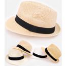 Großhandel Kopfbedeckung: C1918 Sommer Strandhut, luftiges Material