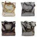 wholesale Handbags: Ladies Bag, Sack, Shopper, Glossy Look, A1885