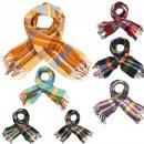 mayorista Ropa / Zapatos y Accesorios: Bufanda colorida, cuadros elegantes, colores, B10A
