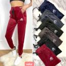 grossiste Vetement et accessoires: Pantalon en velours femme, sportif S-XL, ...