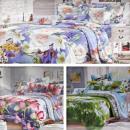 Großhandel Home & Living: Bettwäsche-Set 160x200, 4 Teile, Z042