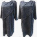 Großhandel Kleider: D4006 Kleid, Made In Poland, 44-52, Graphit