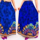Großhandel Röcke: C17694 Frauen Maxirock, Boho Style, Quasten
