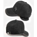 Großhandel Kopfbedeckung: C1944 Herren Baseball Cap mit Ohrenschützer