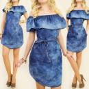 ingrosso Ingrosso Abbigliamento & Accessori: BI373 VESTITO  sensuale, tunica, volant, JEANS