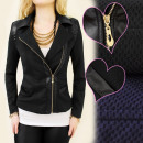 wholesale Coats & Jackets: BI310 chic JACKET, Ramones, bangles