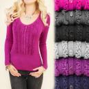 grossiste Vetement et accessoires: C17220 Phenomenon  Sweater, Des Frills exceptionnel