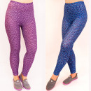 wholesale Sports & Leisure: SOF38 Sports Leggins, Colorful Melange, cotton